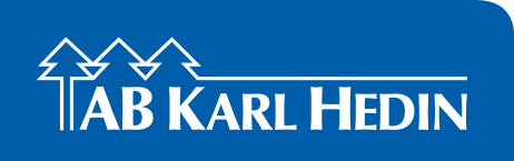 AB Karl Hedin | Fakturakopia